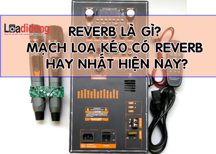 Top loa kéo có mạch Reverb hay nhất 2021? Công dụng Reverb