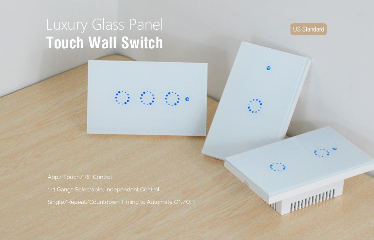 C U00f4ng T U1eafc  U0110i U1ec1u Khi U1ec3n T U1eeb Xa  U00c2m T U01b0 U1eddng Wifi Smart Switch Sonoff T1 Us
