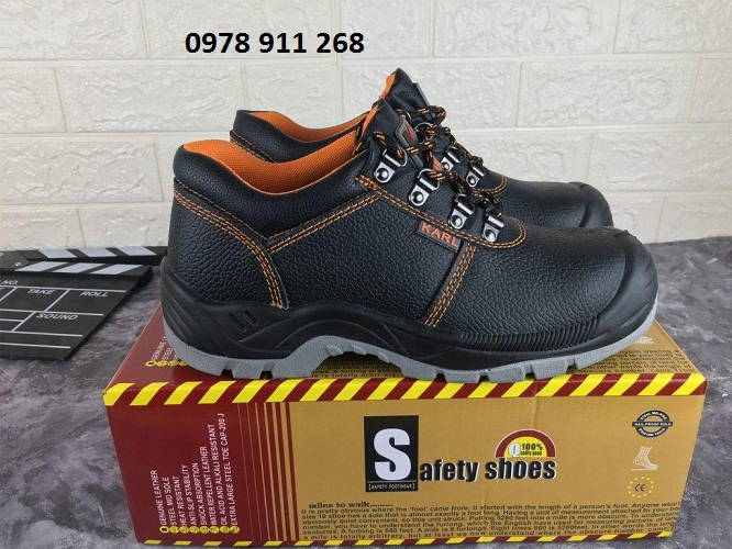 Giầy Bảo Hộ Safety Shoes (Karl Classic)