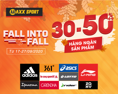 FALL INTO FALL - SALE 30-50%++ HÀNG NGÀN SP