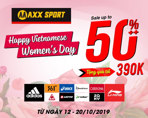 Happy Vietnamese Women's Day - Tặng quà tới 390K - Sale up to 50%++