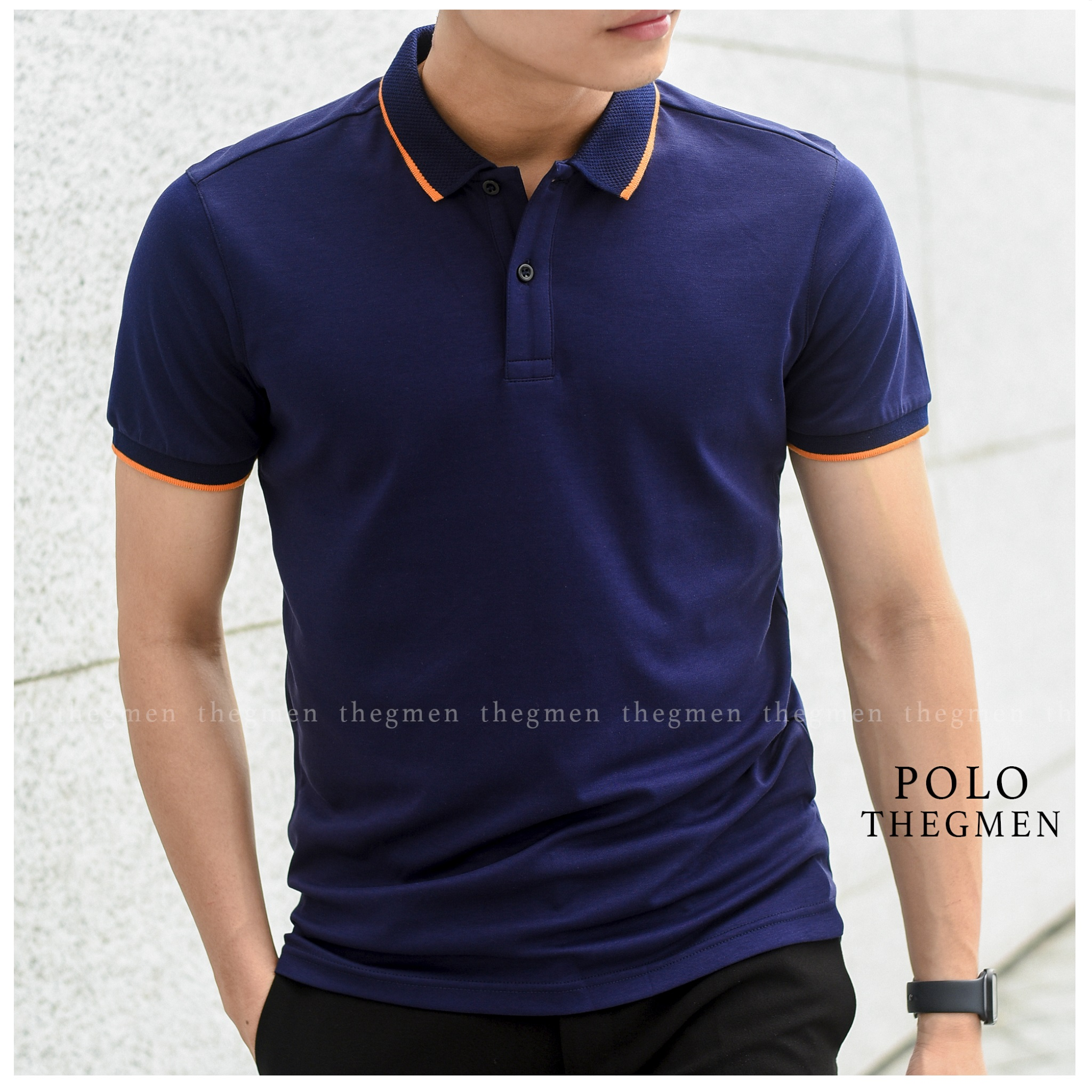 COTTON LIQUID POLO SHIRT