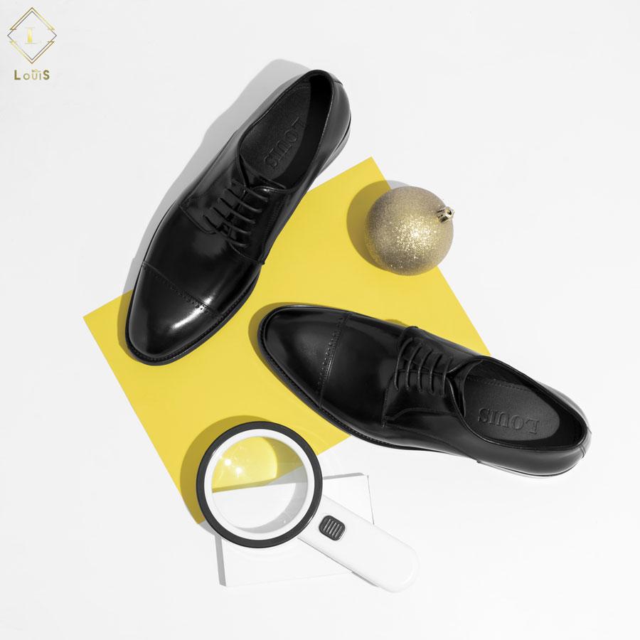 Giày Derby họa tiết ngang mũi giày 3906-6L