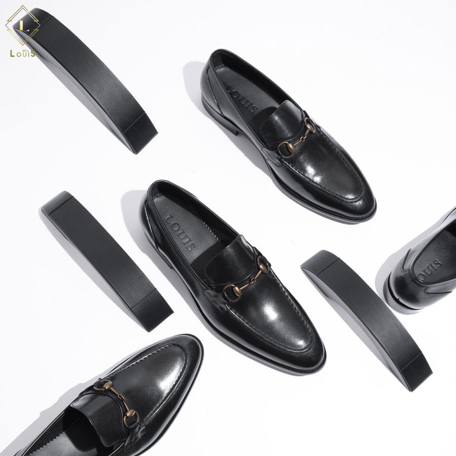 Giày Loafer đai ngang kim loại 2268-C18Đ