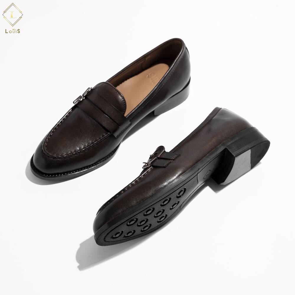 Giày lười hai móc cài LC05