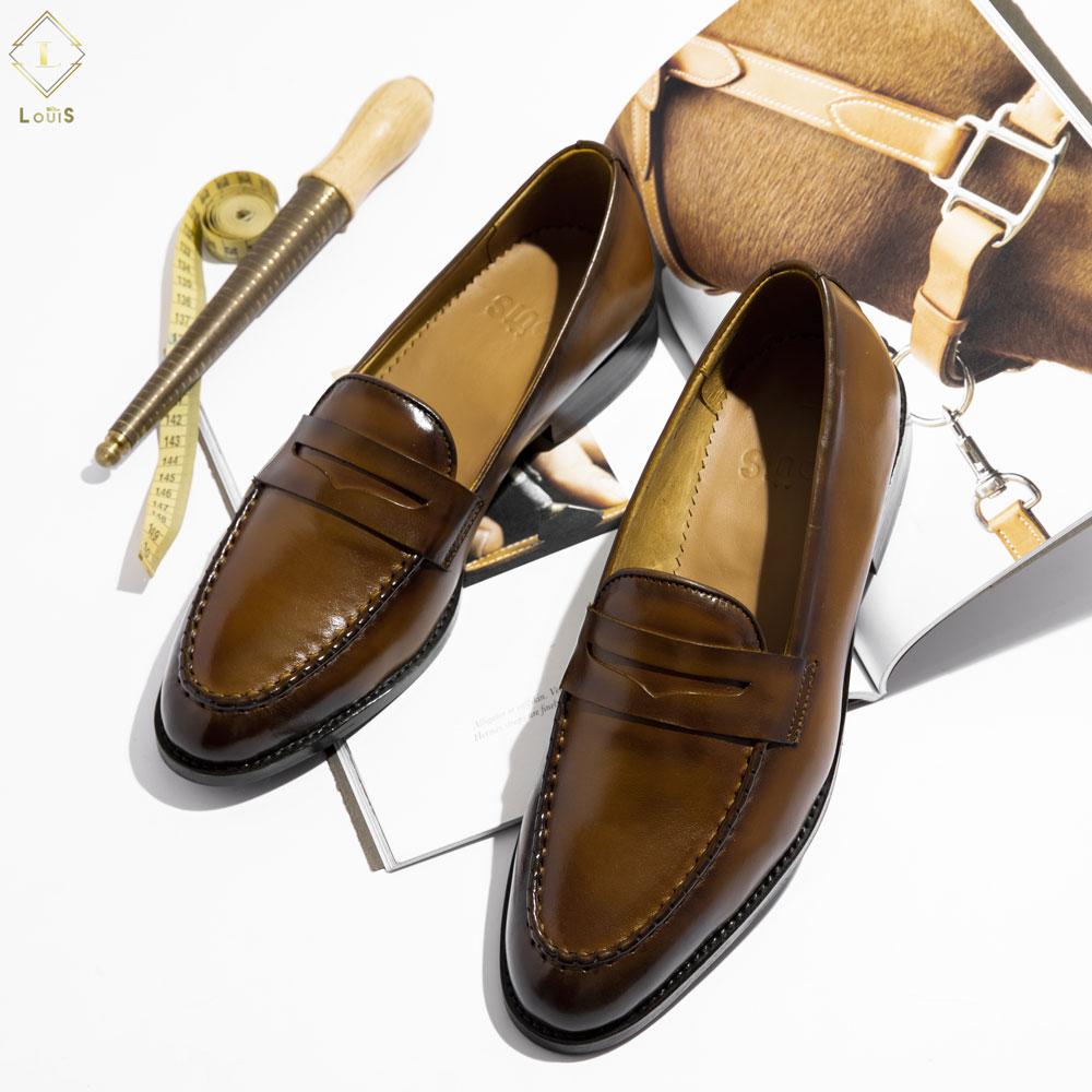 Giày lười quai ngang M18-V