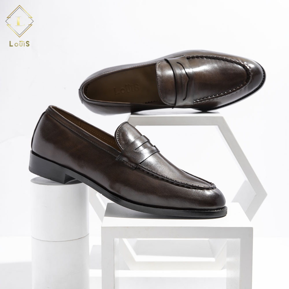 Giày lười quai ngang M18-N