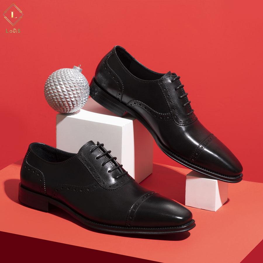 Giày tây nam họa tiết ML8101-7Đ