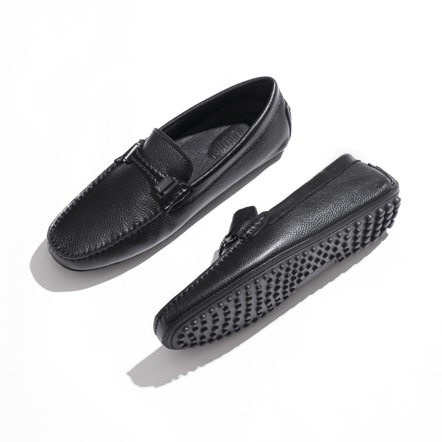 Giày lười da mềm đế cao su T68-5-40