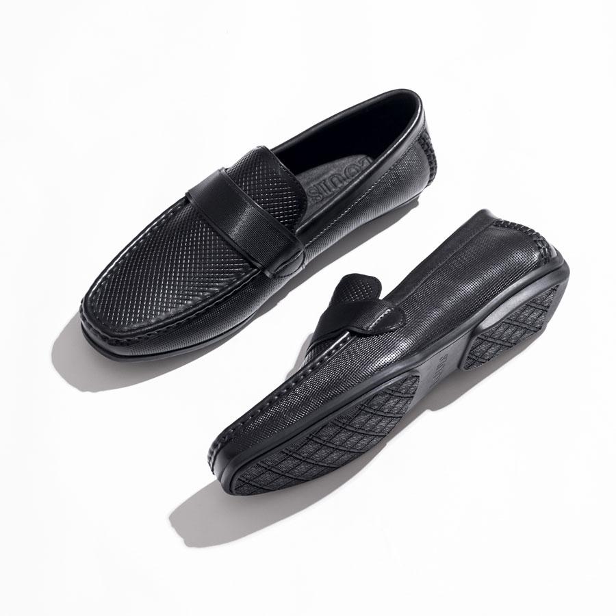 Giày lười họa tiết da đan SH230-7
