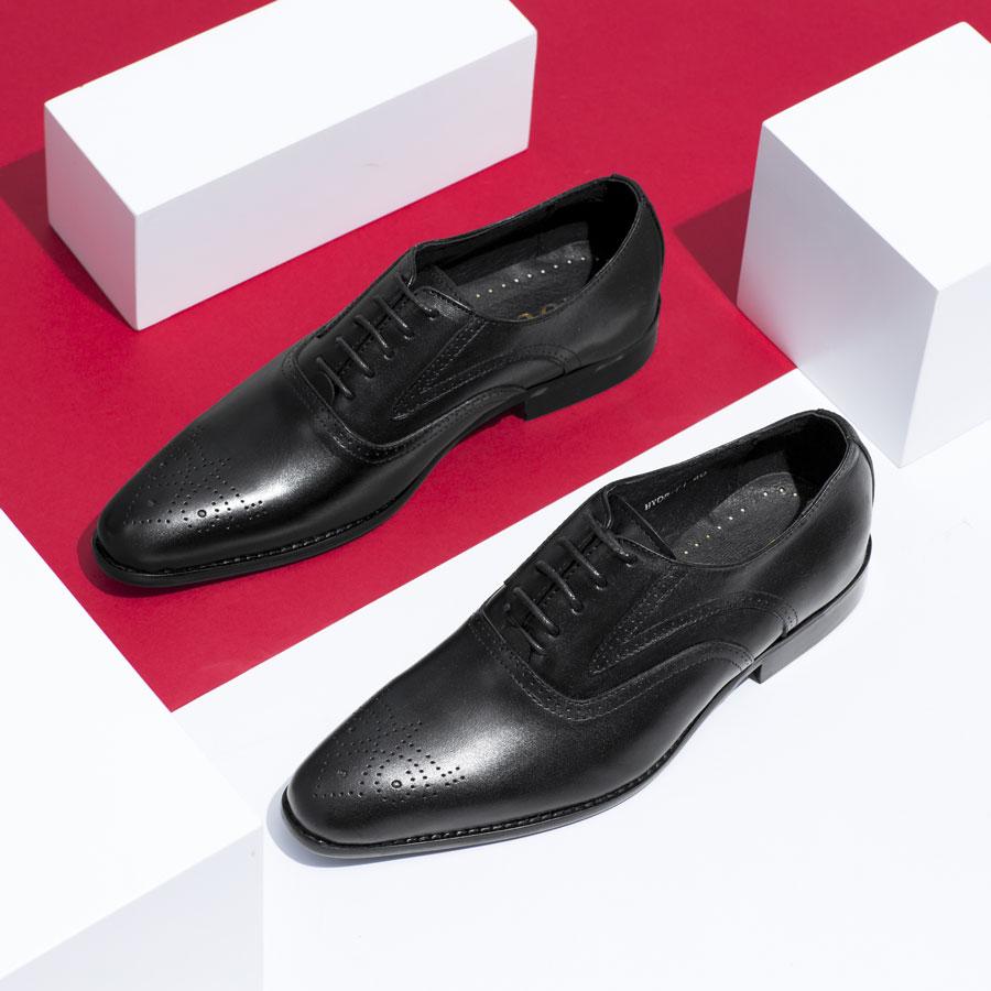 Giày tây cổ điển mũi nhọn HY08-71
