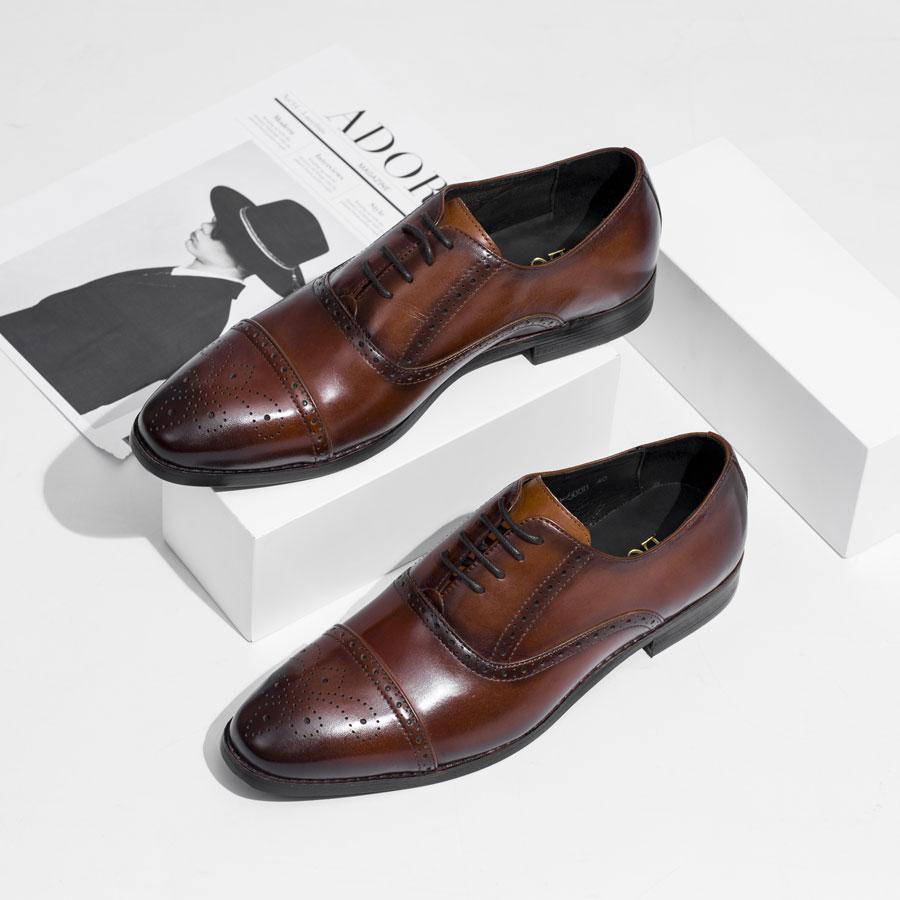 Giày tây họa tiết YD119-500B-N