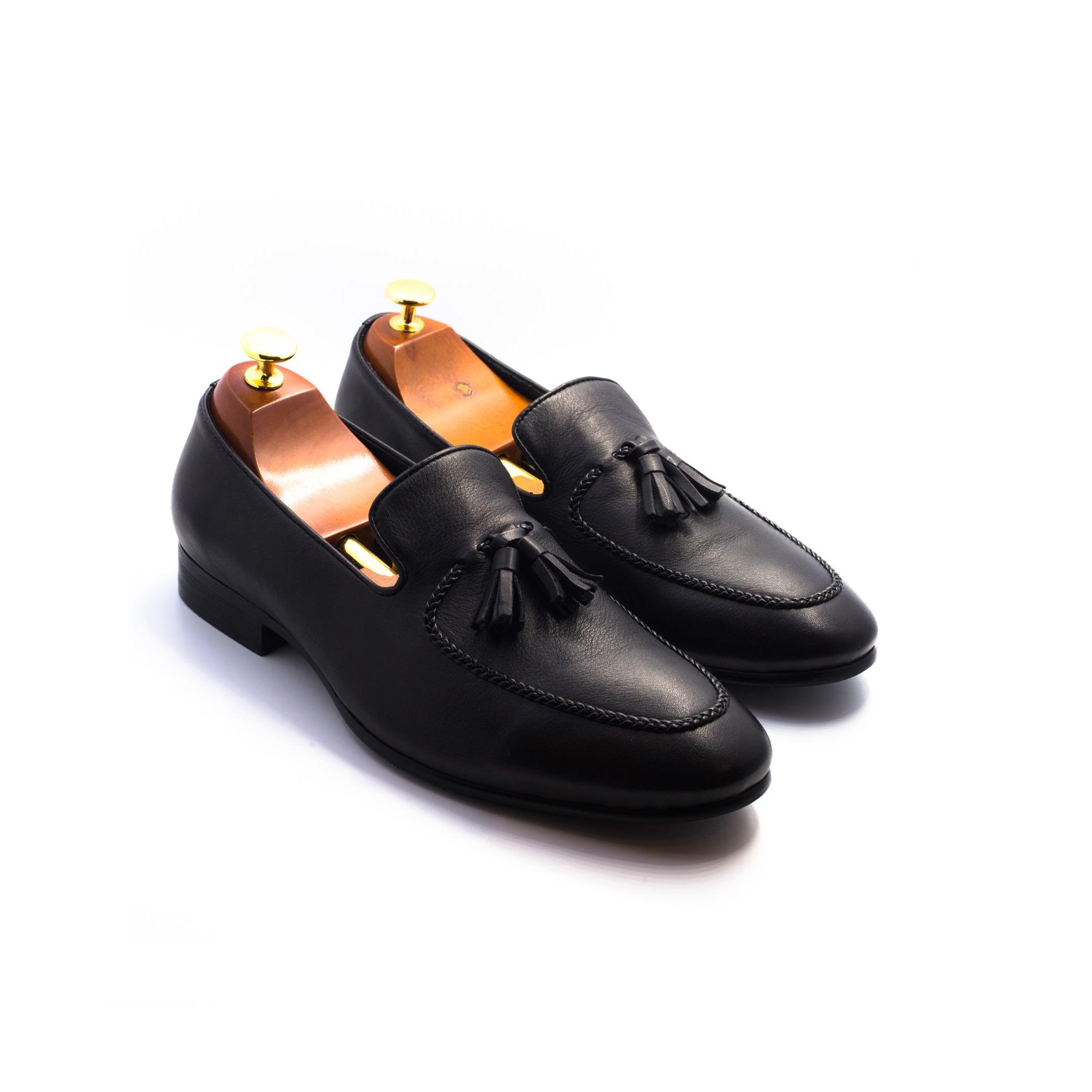 Giày Tassel Loafer da bê mềm ZC273-77-A18