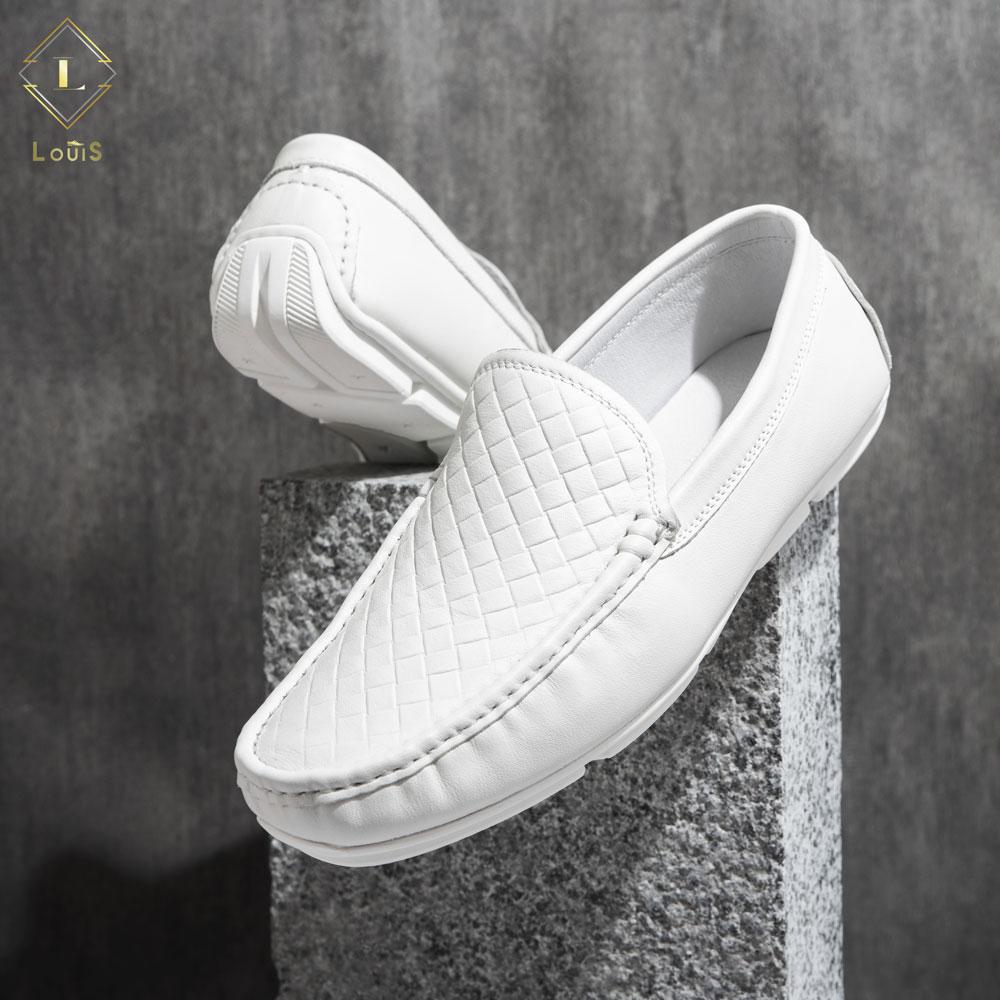 Giày lười trắng ML206-313