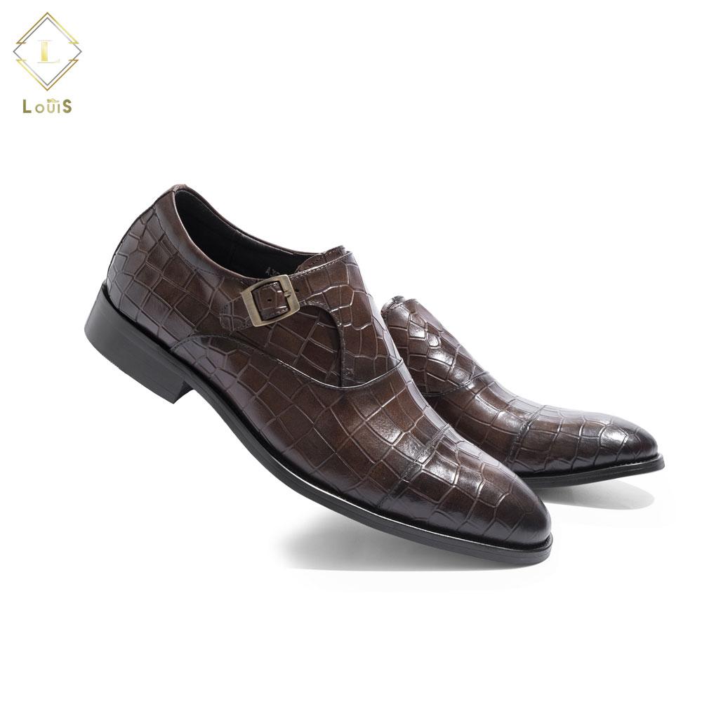 Giày lười Monk Strap A3001-E3