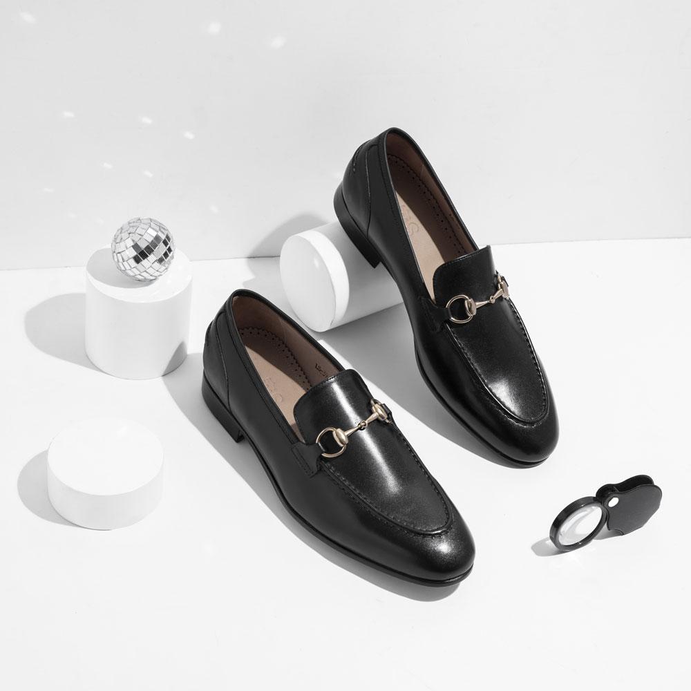 Giày Loafer đế da LS
