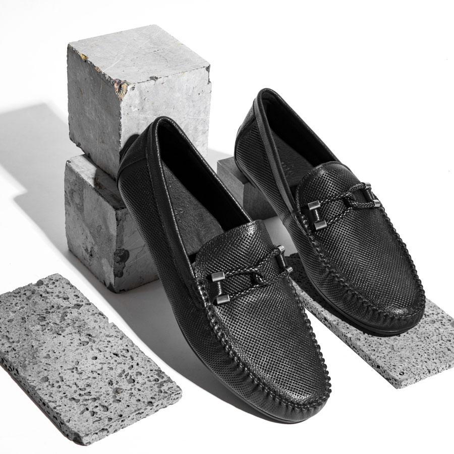 Giày lười nam dáng Bit Loafer 633-6575-1