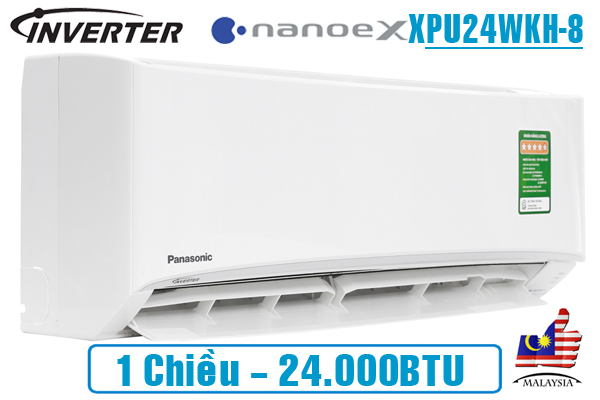 dieu-hoa-panasonic-nanoex-24000btu-1-chieu-inverter-xpu24wkh-8-model-2020