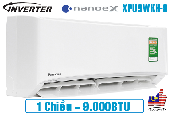 dieu-hoa-panasonic-nanoex-9000btu-1-chieu-inverter-xpu9wkh-8-model-2020