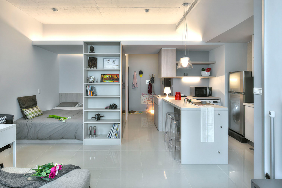 Small Studio Apartment Design Ideas (2019) - Modern, Tiny & Clever