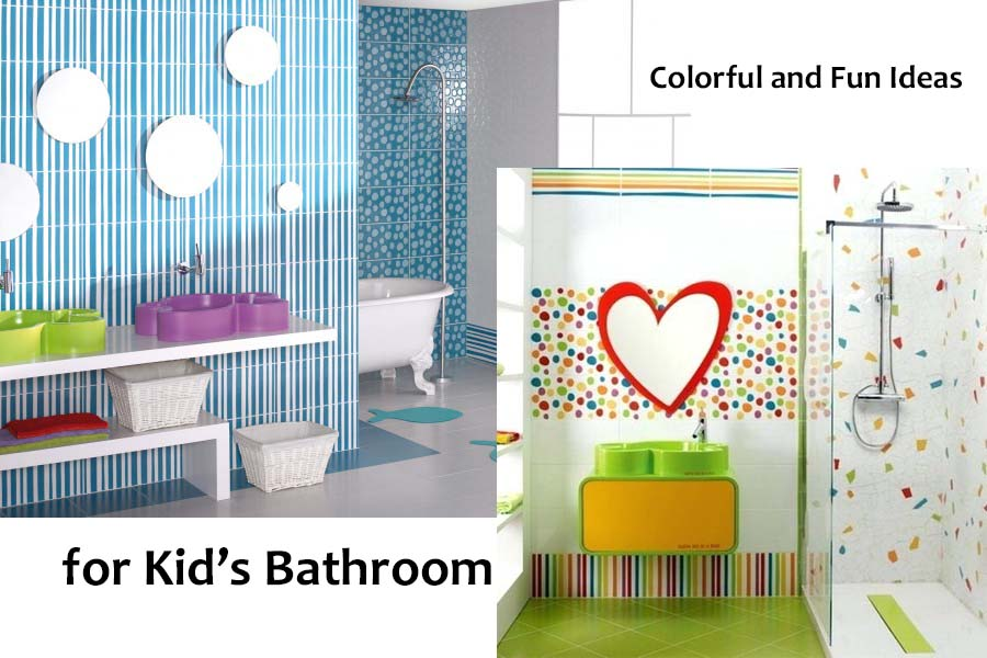 Colorful and Fun Bathroom Ideas for Kids.