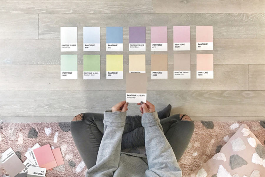 12 color trends 2019 in the Interior Decoration.