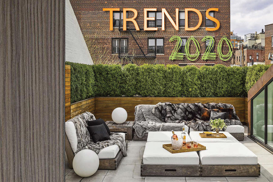 "Catch the Interior ""Hot Trends"" in 2020."