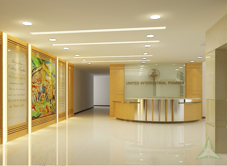 FACTORY OFFICES FOR KOREA UNITED PHARM INT'L INC