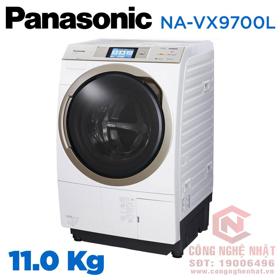 Máy giặt cửa trước Panasonic NA-VX9700L 11KG nội địa Nhật Bản