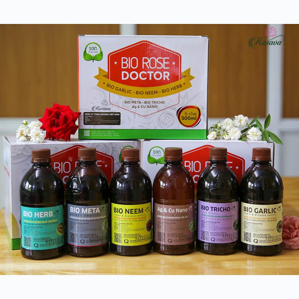 Rose Doctor – thuốc trừ sâu sinh học cho hoa hồng cao cấp công nghệ Nhật