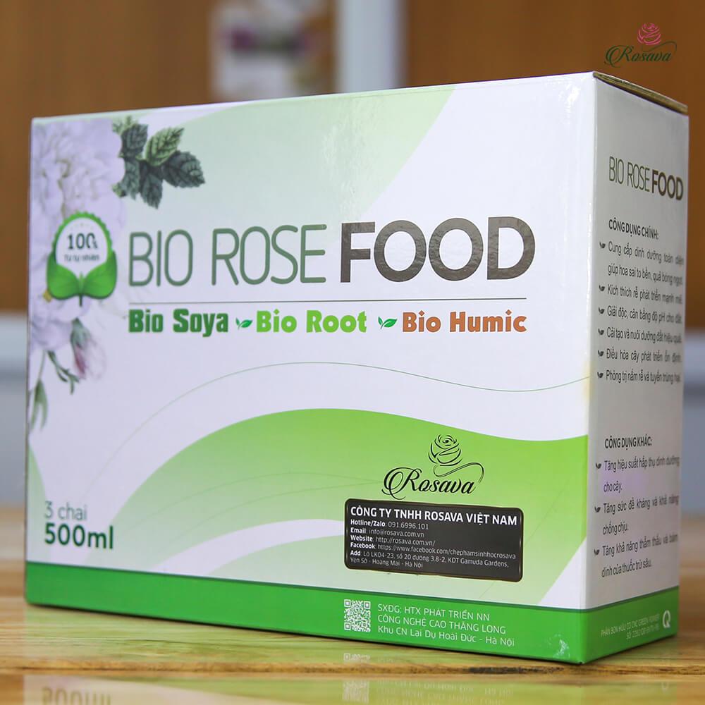 Combo Rose Food – bộ phân bón vi sinh cao cấp công nghệ Nhật cho cây