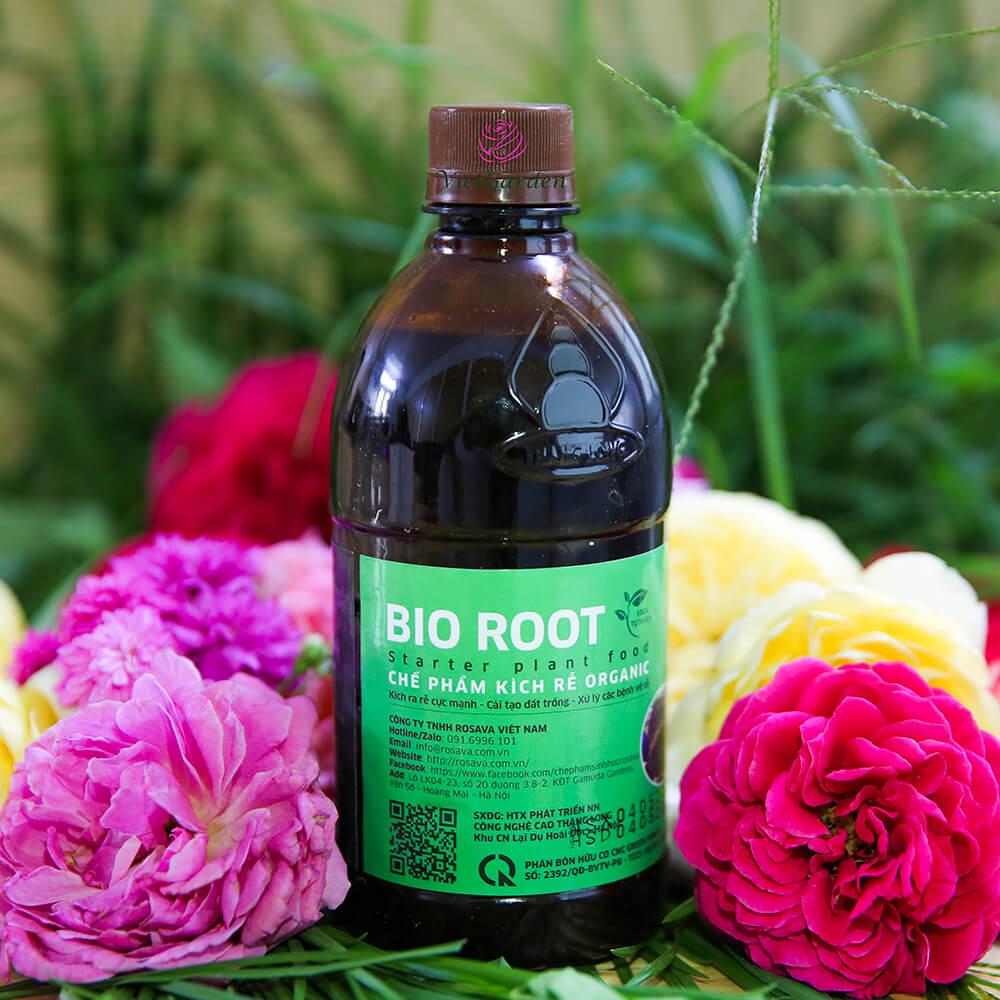 Chế phẩm kích rễ organic Bio Root – phân bón không thể thiếu cho cây