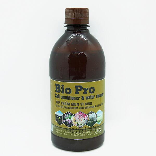 Chế phẩm men vi sinh Bio Pro cải tạo đất và làm sạch nước hiệu quả