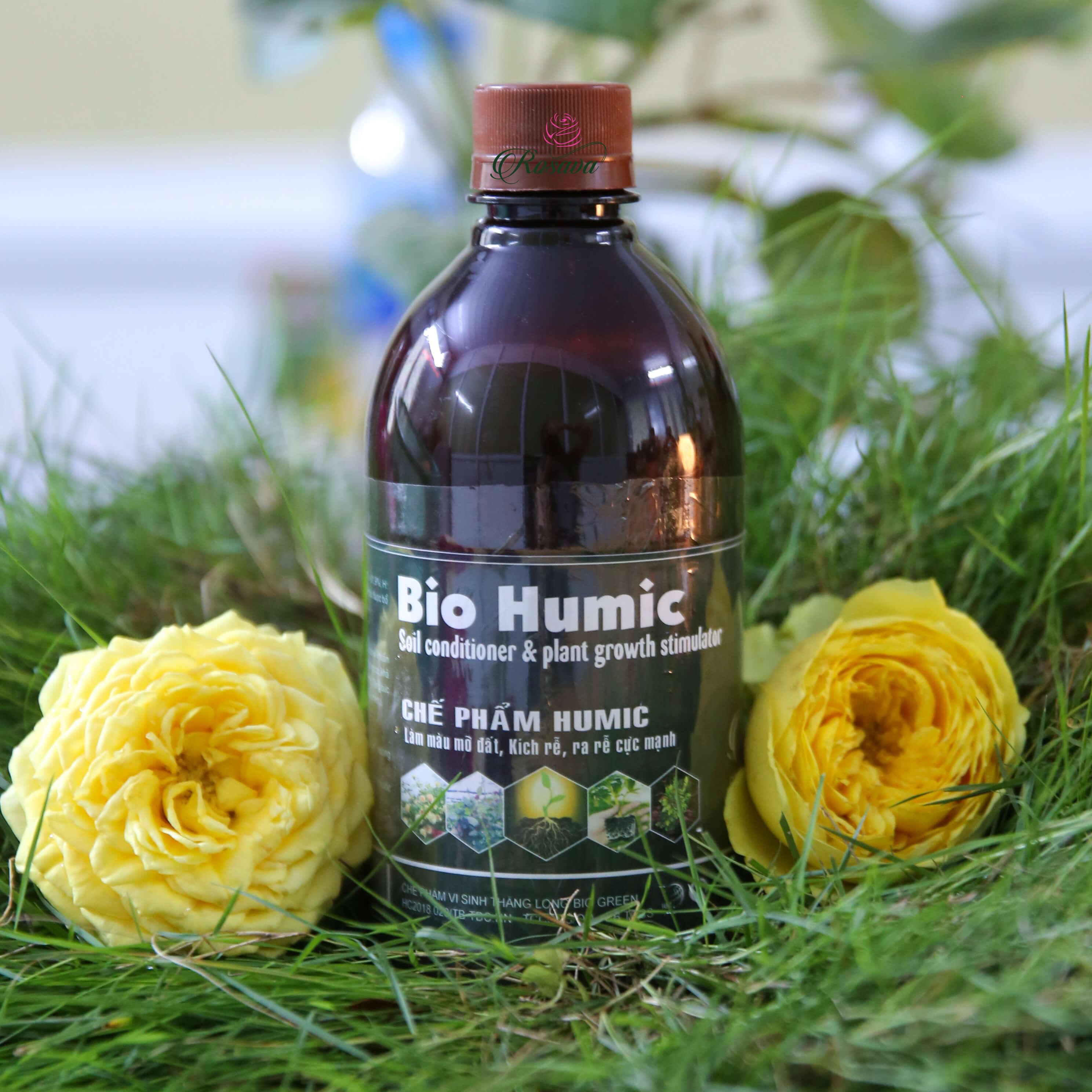 Chế phẩm nuôi dưỡng đất organic Bio Humic – phân bón thiết yếu cho cây trồng