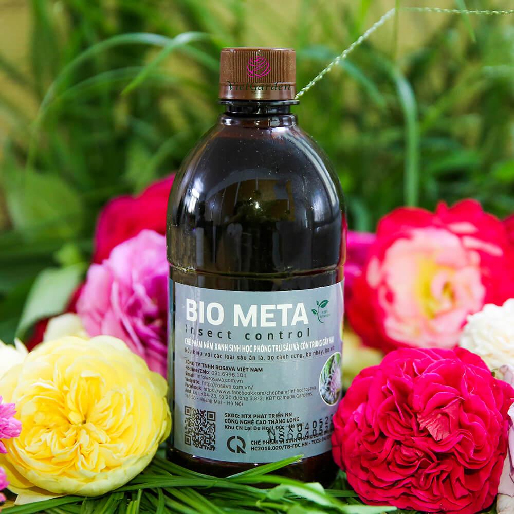 Bio Meta – thuốc trừ sâu sinh học cho hoa hồng công nghệ Nhật