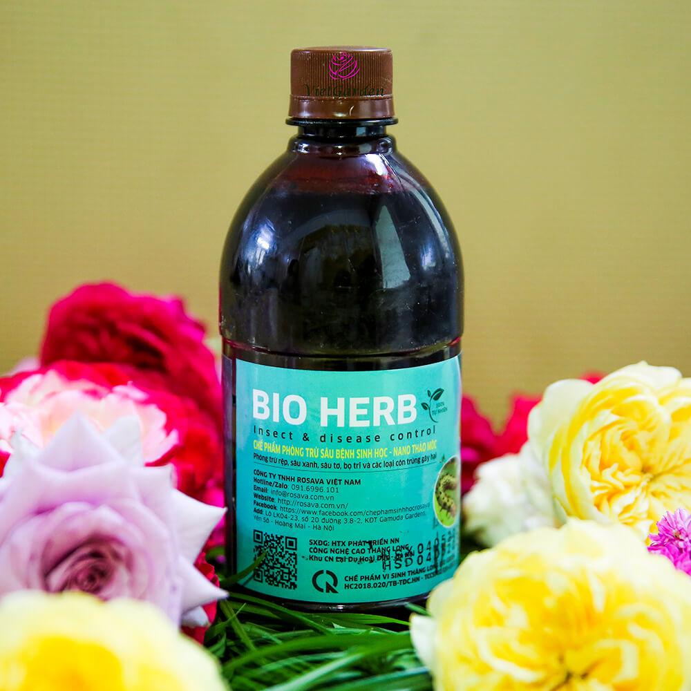 Bio Herb – thuốc trừ sâu sinh học cho hoa hồng cao cấp công nghệ Nhật
