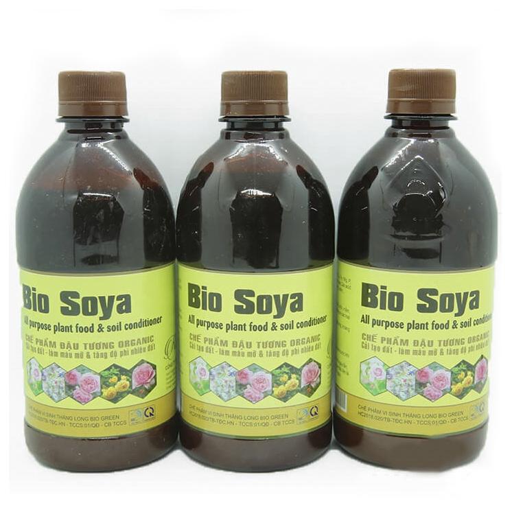 Chế phẩm đậu tương Bio Soya – phân bón cho hoa hồng tốt nhất