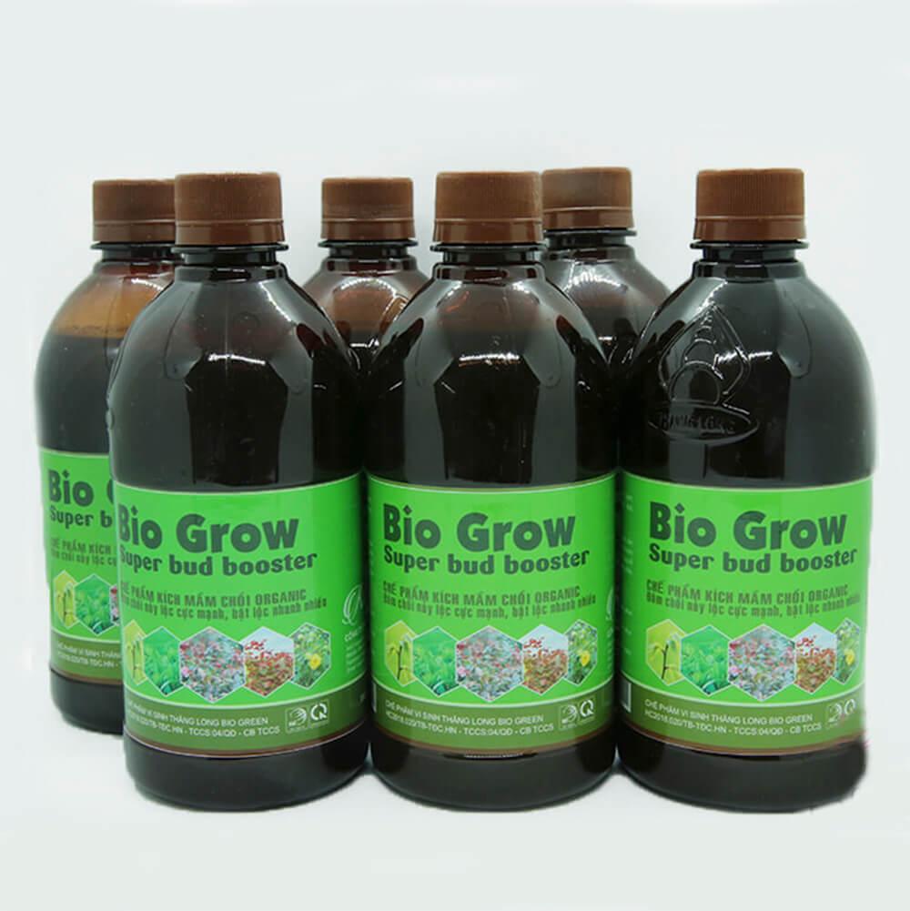 Chế phẩm kích mầm Bio Grow – phân bón hữu cơ sinh học cao cấp công nghệ Nhật