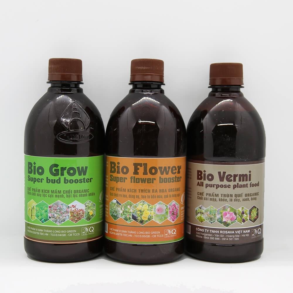 Combo Rose Care (plus) – phân bón lá cao cấp kích mầm, nuôi lá, kích hoa dưỡng quả