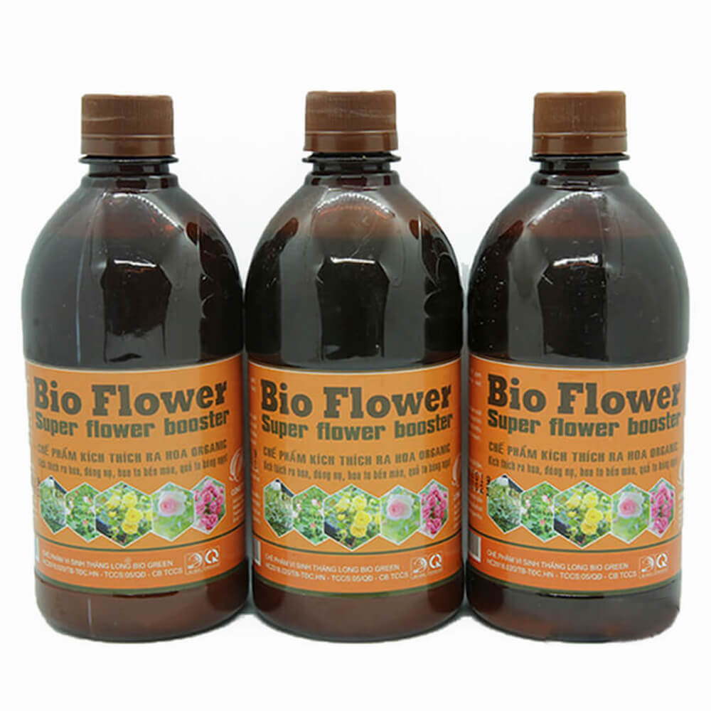 Phân bón kích thích ra hoa đậu quả Bio Flower – phân bón lá cao cấp công nghệ Nhật