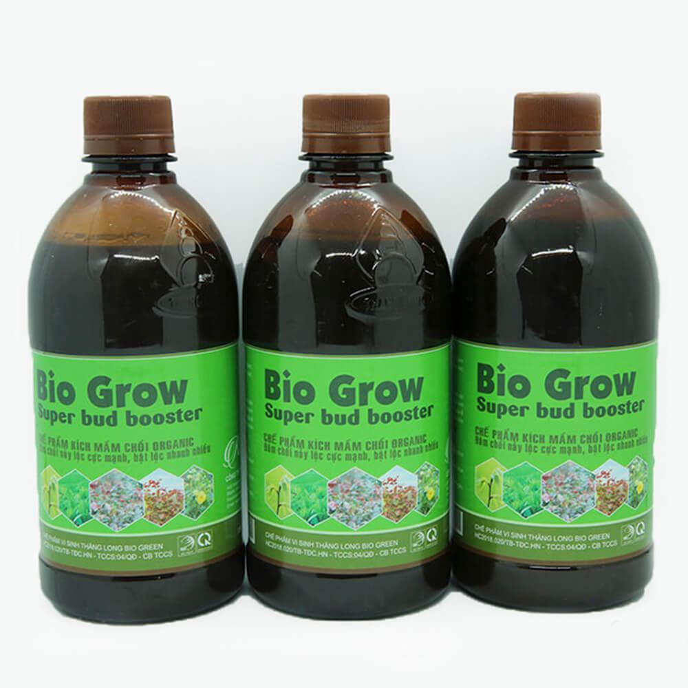 Chế phẩm kích mầm Bio Grow – phân bón lá cao cấp công nghệ Nhật