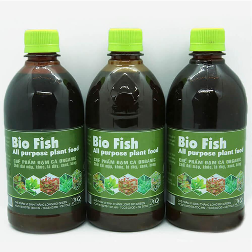 Dịch đạm cá Bio Fish – phân bón lá cao cấp công nghệ Nhật