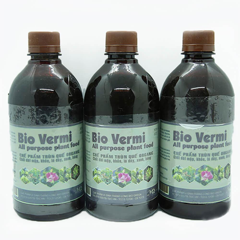 Dịch trùn quế Bio Vermi – phân bón sinh học cao cấp công nghệ Nhật