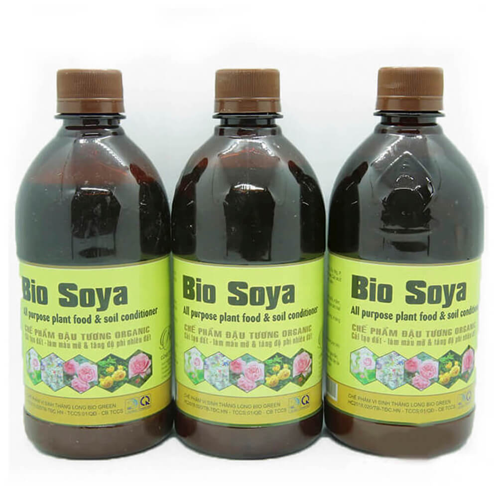 Chế phẩm đậu tương Bio Soya – phân bón vi sinh cao cấp công nghệ Nhật