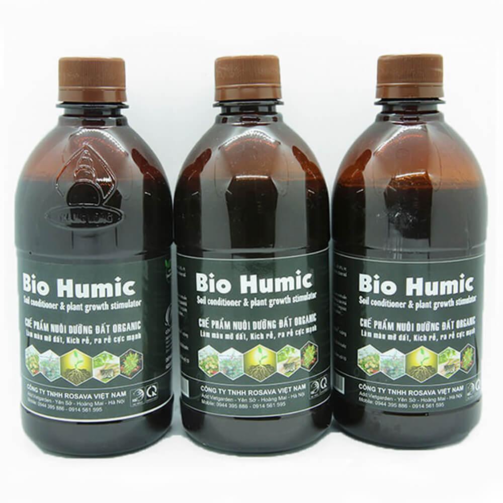 Phân bón humic Bio Humic – phân bón vi sinh cao cấp công nghệ Nhật