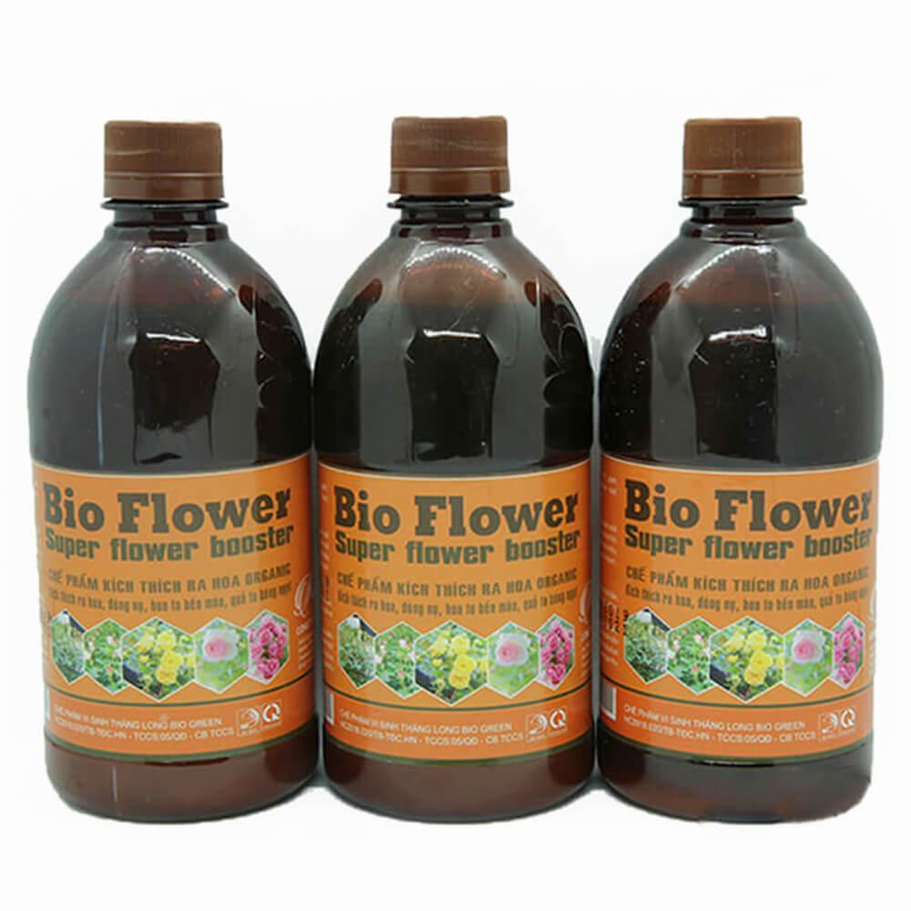 Phân bón kích ra hoa đậu quả Bio Flower – phân bón vi sinh cao cấp công nghệ Nhật