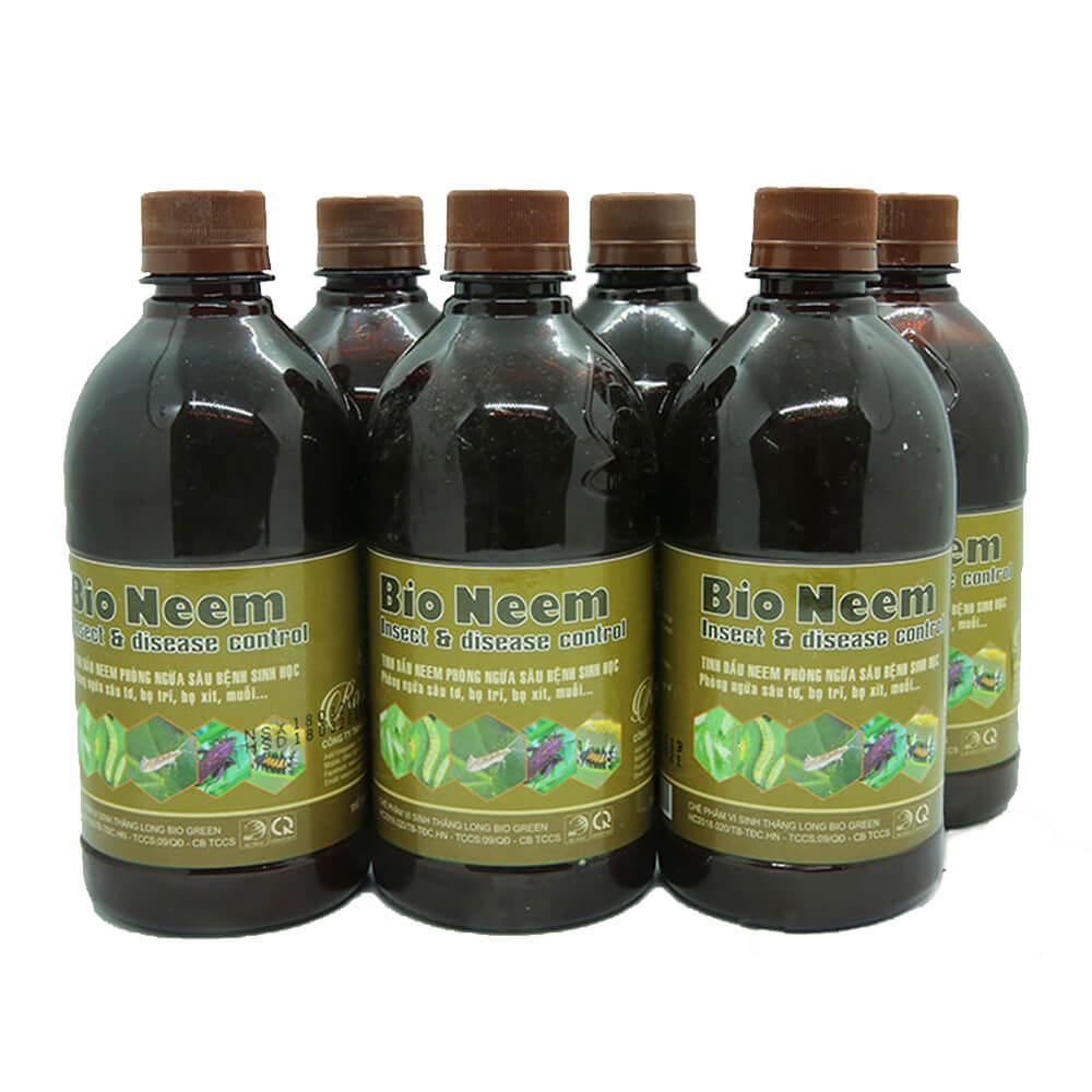 Bio Neem – thuốc trừ sâu sinh học cho hoa hồng cao cấp công nghệ Nhật