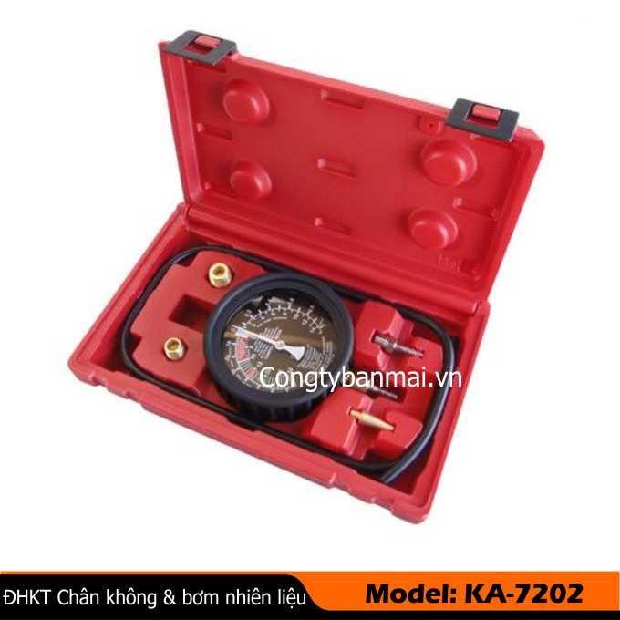Đồng hồ kiểm tra chân không  & bơm nhiên liệu KA-7202