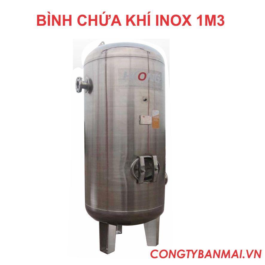 Bình chứa khí inox 1000 lít