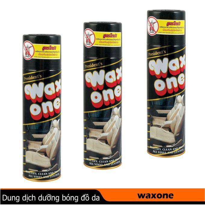 Bình xịt bóng đồ da đồ gỗ WAX ONE